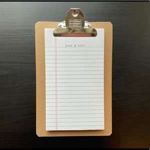 Mini Clipboard with Notepad